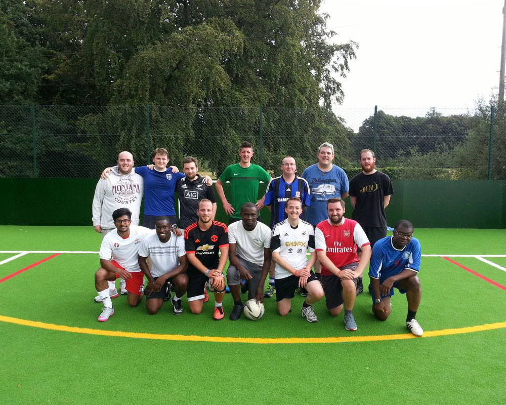 Oscott football team image
