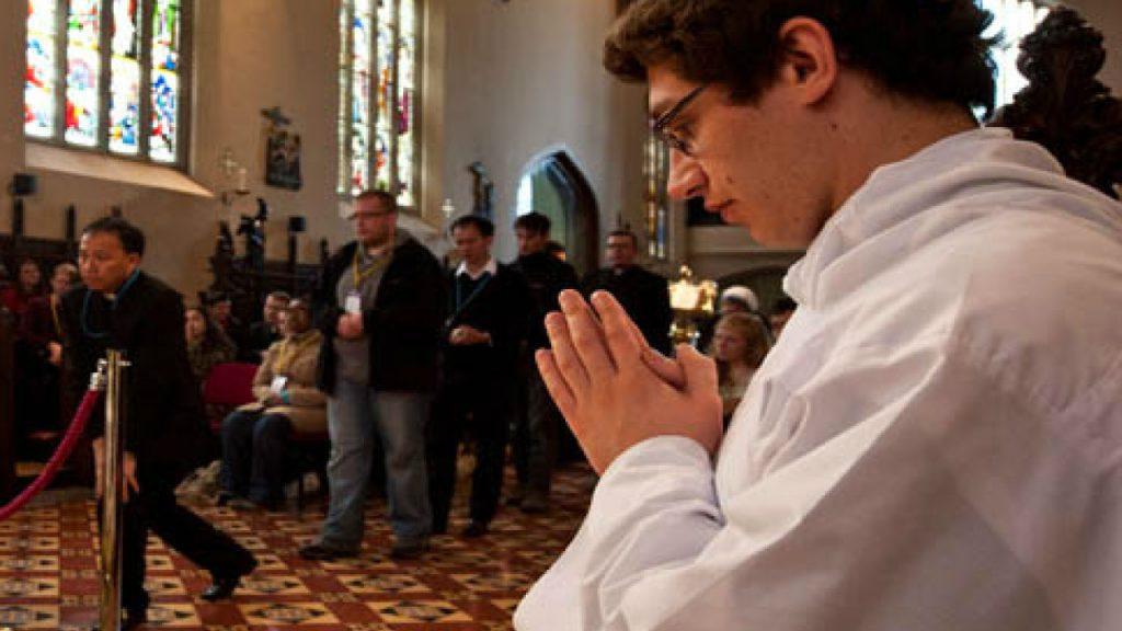 St Mary's Oscott Mass image