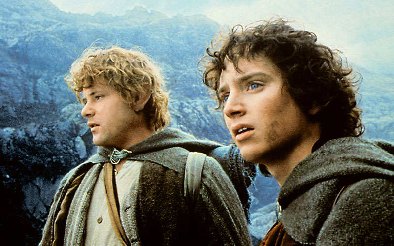 lord of the rings frodo and sam